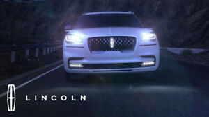 2020-2021 Lincoln Aviator Black Label Illuminated Grille Emblem