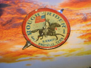 ROUGH RIDERS FROM KNOXVILLE, TENN. COLORFUL CONFEDERATE RELATED