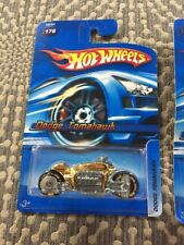 2005 Hot Wheels #176 Dodge Tomahawk Gold Chrome Variation