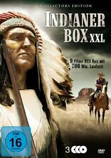 9x INDIANI SCATOLA XXL Western WYOMING Arizona Kid MOHICANI Film DVD nuovo