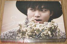 LEE MIN HO MINHO Song For You 2ND ALBUM K-POP CD + DVD + PHOTOCARD + NOTE SEALED
