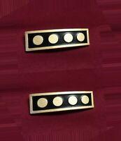Star Trek Voyager Rank Pip Pip Badge Insignia Collar Uniform Costume 6 x 3mm