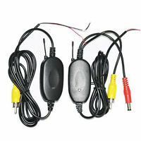 2.4G Wireless Camera RCA Video Transmitter & Receiver For Car Backup Camera New