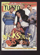 TUTTO 1/1998 BACKSTREET BOYS PELU' METALLICA + POSTER WILL SMITH / SPICE GIRLS