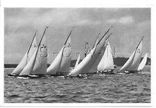 WWII GERMAN- Large 1936 OLYMPIC Photo Image- Sports- Sailing- Sailboat Race