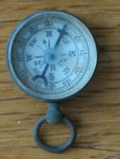 brass compass Germany vintage