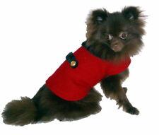 60's Retro Warm Dog Pet Puppy Dog Coat w Faux Fur Collar Lot of 5 Handmade