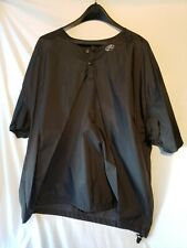 Rawlings Mens XL Black Poncho Waterproof Nylon Baseball