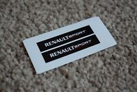 RENAULT Sport Motorsport Racing Car Rally Alpine Clio Decal Stickers Black 100mm