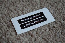 RENAULT Sport Motorsport Racing Car Rally Alpine Clio Decal Stickers Black 50mm