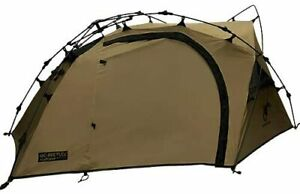 [Quick Camp] Double Wall Touring Tent for 1 person Tan Color QC-BEETLE1