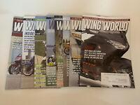 Wing World Magazine Year 2020 Issues January - September Lot Of 8 Magazines