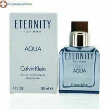 CS ETERNITY AQUA/CALVIN KLEIN EDT SPRAY 1.0 OZ (M)
