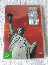 KEN BURNS: STATUE OF LIBERTY– DVD, REGION-4, LIKE NEW, FREE POST IN ASUTRALIA