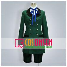Cosonsen Kuroshitsuji Black Butler Ciel Phantomhive Cosplay Costume Green Color