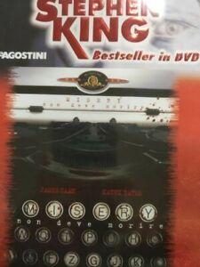 MISERY NON DEVE MORIRE DVD+LIBRETTO STEPHEN KING BESTSELLER DEAGOSTINI
