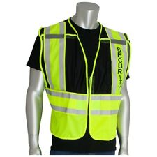 Pip Class 2 Public Safety Vest with Security Logo, Black