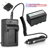 Kastar Battery Travel Charger for Leica GEB221 & Leica TS09 TS11 Total Station