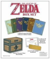 Legend of Zelda Strategy Guide BOXSET Collector's USA Book Set