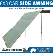 Oztrail 8x8 Car Side Awning Extension 4x4 4wd Camping Rack Tent Cover Shade