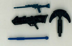 Lot of Toy / Action Figure Accessories ~ Batman Star Wars GI Joe Hasbro Kenner