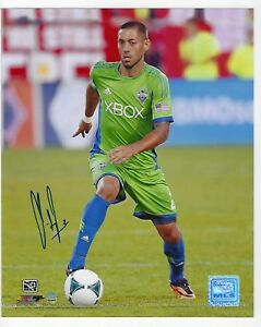 Seattle Sounders Clint Dempsey AUTO 8x10 Photo Steiner Sports Cert Tamper Proof