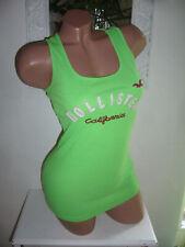 HOLLISTER Ripptop Ripp Top Shirt Rippshirt Longshirt Grün L