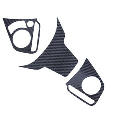 Carbon Fiber Style Steering Wheel Trim Cover Decal For Honda Civic 2016 2017
