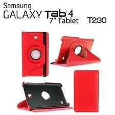 "FUNDA PARA TABLET SAMSUNG GALAXY TAB 4 7.0"" T230 T235 GIRATORIA ROJO"