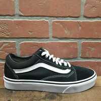 Vans Old Skool Black & White Skate Shoes SIZE 7.5M 9W