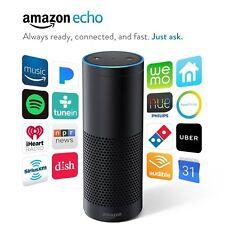 New listing Amazon Echo w/ Alexa Voice Control Personal Assistant & Bluetooth Speaker, Black