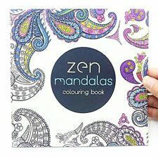 1PCS New 24 Pages Mandalas Flower Coloring Book For Children Adult Relieve