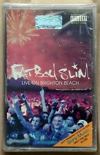 Fatboy Slim - Live On Brighton Beach NEW SEALED Cassette DJ Mix 2002 Norman Cook