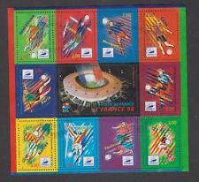 France - Bloc feuillet oblitéré N° 19 - Coupe du monde de football 1998 - TB
