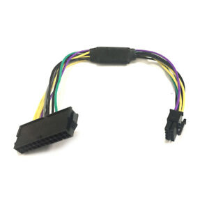 24Pin to 8Pin ATX Dell Optiplex 7020 3020 Power Supply Motherboard Adapter Cable