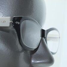 Reading Glasses Cat Eye Super Twisty Flexi Frame : White Black +1.75 Strength
