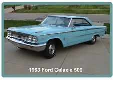 1963 Ford Galaxie 500 Auto Refrigerator / Tool Box  Magnet