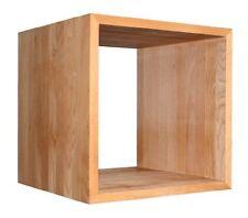 Schwerer, robuster Kubus, Buche geölt, ca. 45x45x45cm, dickes Massivholz, Cube