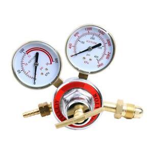 "Welding Gas Gauge Welder Acetylene Regulator Torch Cutting kits CGA510 2"" Gauges"