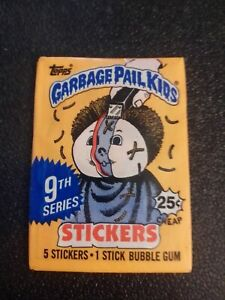 Garbage Pail Kids 9th Series 1987 Unopened Wax Pack