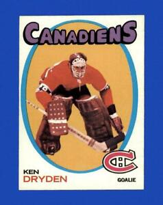 1971-72 Topps Set Break # 45 Ken Dryden EX-EXMINT *GMCARDS*
