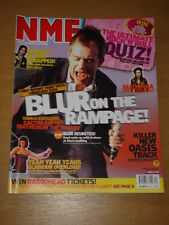 NME 2003 MAY 17 BLUR REUNITED! YEAH YEAHS OASIS STROKES