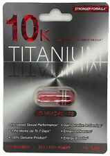 Titanium 10K - Fast Acting Male Sexual Enhancer Pill (5 Pills Pack)