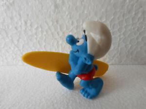 175 - SCHLEICH - SCHLÜMPFE - 1991 - PEYO - SURFERSCHLUMPF