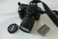 Nikon D80 10.2MP Digital-SLR DSLR Camera with NIKKOR AF 28-80mm Lens - BLACK