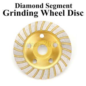 5'' 125mm Diamond Segment Grinding Concrete Cup Wheel Disc Granite Stone Grinder