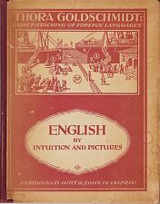 Thora Goldschmidt: Object-Teaching of Foreign Languages, 1931 Hardcover