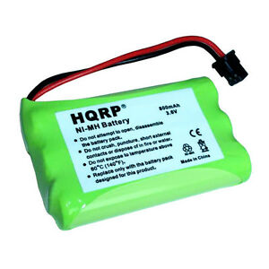 HQRP Cordless Phone Battery for GP 80AAALH3BMX, 80AAALH3BMZ