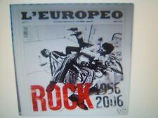 L'EUROPEO=N°6 2006=ROCK 1956-2006=ELVIS PRESLEY=BEATLES=U2=ROLLING STONE=DOORS..
