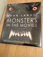 SIGNED & DATED - Monsters in the Movies by John Landis DIrector Thriller HC 1st